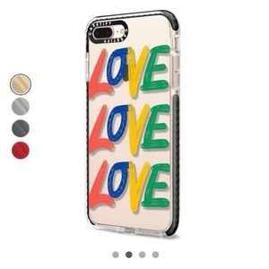 Love x3 - iPhone 8 Plus Impact Case